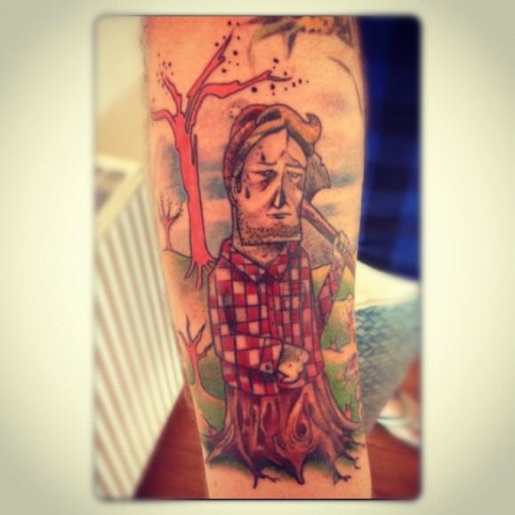 colour tattoos ...